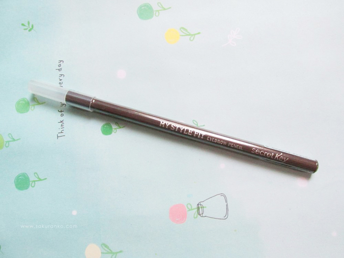 Затачиваемый карандаш для бровей Secret Key My Style Fit Eyebrow Pencil фото 2 | Sweetness