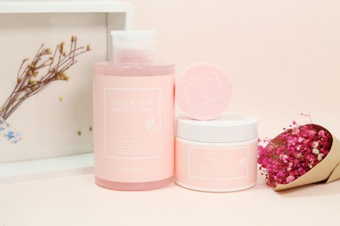 Secret Key Rose Water Oil Clear Powder Рассыпчатая пудра с розовой водой для жирной кожи фото 1 | Sweetness