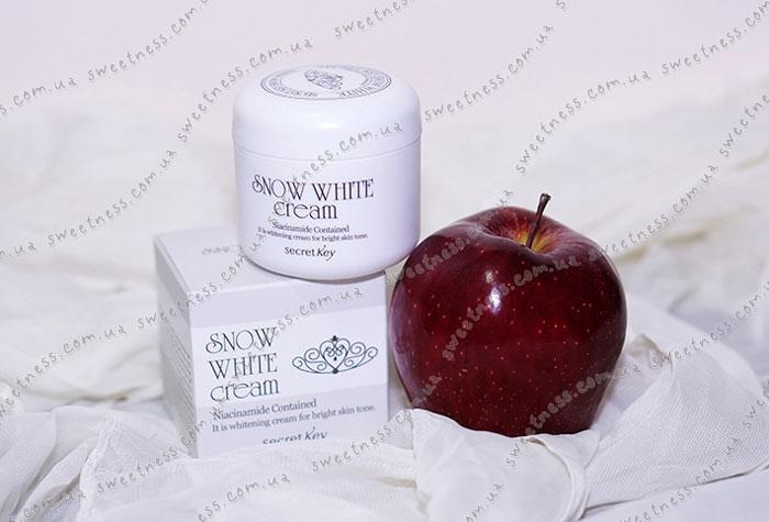 Secret Key Snow White Cream Осветляющий питательный крем фото 1 | Sweetness