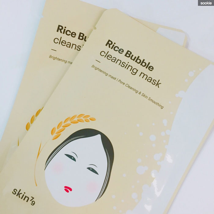 Skin79 Rice Bubble Cleansing Mask фото 1