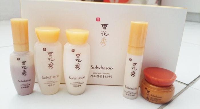 Набор миниатюр люксовых средств для ухода Sulwhasoo Basic 5 Kit фото 3 / Sweetness