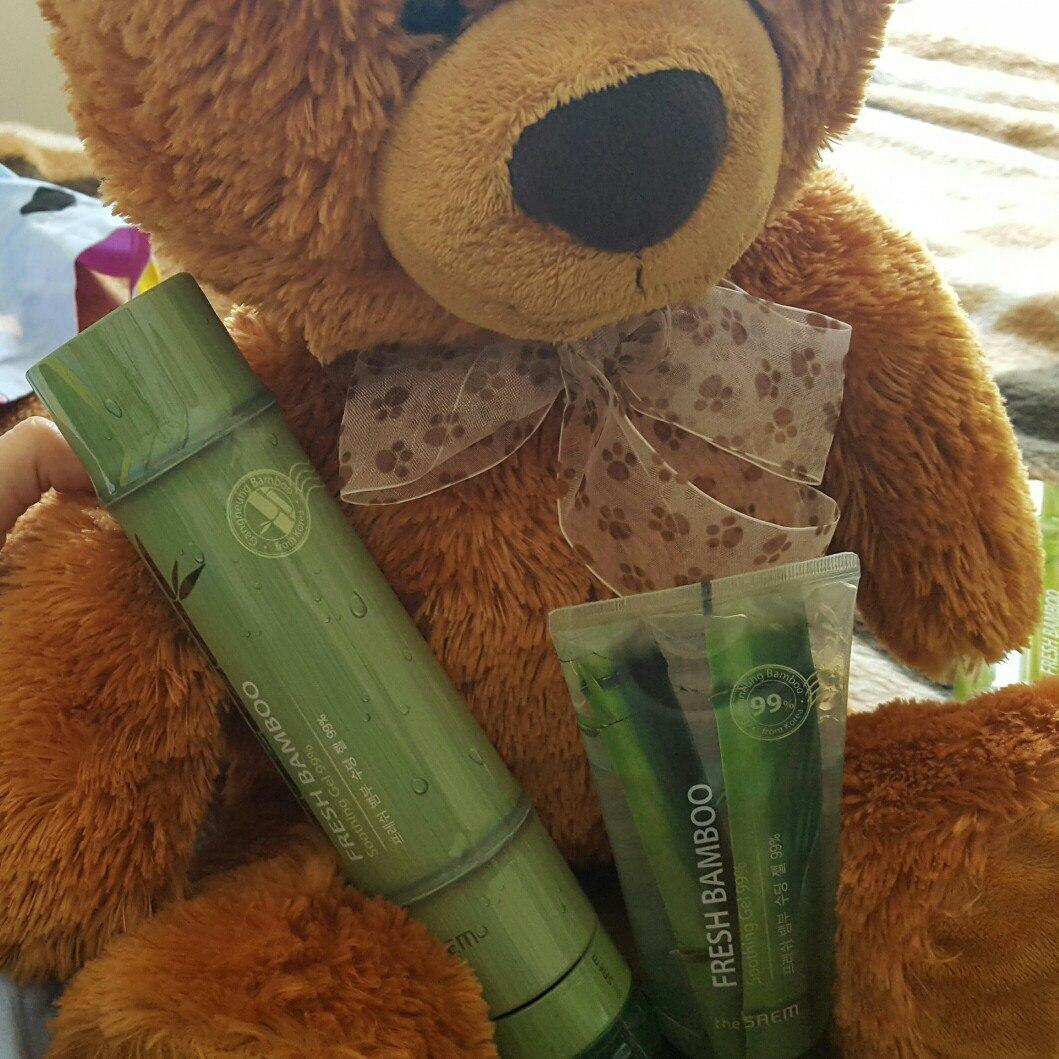 The Saem Fresh Bamboo Soothing Gel 99% Бамбуковый увлажняющий гель фото 11 | Sweetness