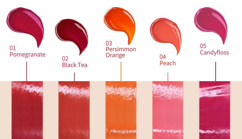 The Saem Saemmul Jelly Candy Tint Гелевый тинт для губ Конфетка фото 9 | Sweetness