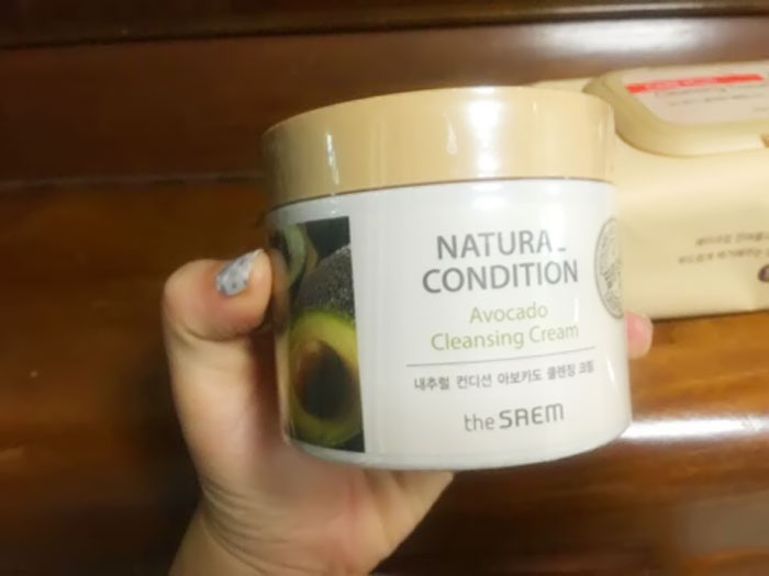 The Saem Natural Condition Avocado Cleansing Cream фото 2 | Sweetness