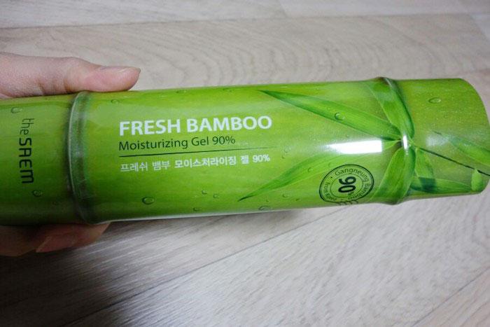 The Saem Fresh Bamboo Moisturizing Gel 90% Гель для лица и тела с экстрактом бамбука фото 2 | Sweetness