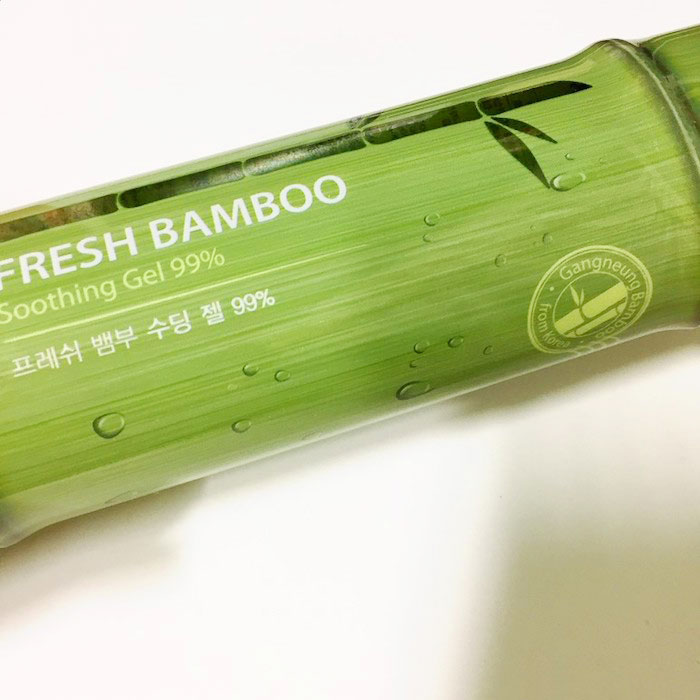 The Saem Fresh Bamboo Soothing Gel 99% Бамбуковый увлажняющий гель фото 2 | Sweetness