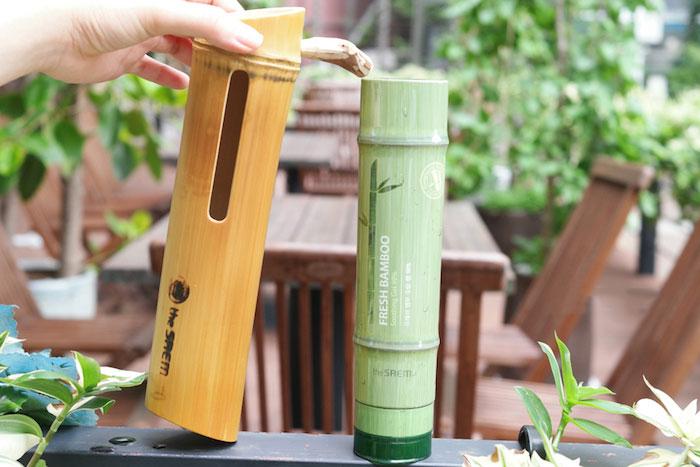 The Saem Fresh Bamboo Soothing Gel 99% Бамбуковый увлажняющий гель фото 6 | Sweetness