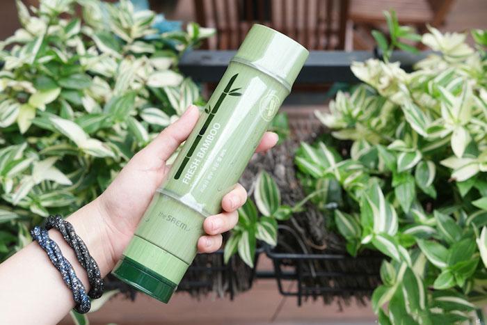 The Saem Fresh Bamboo Soothing Gel 99% Бамбуковый увлажняющий гель фото 7 | Sweetness