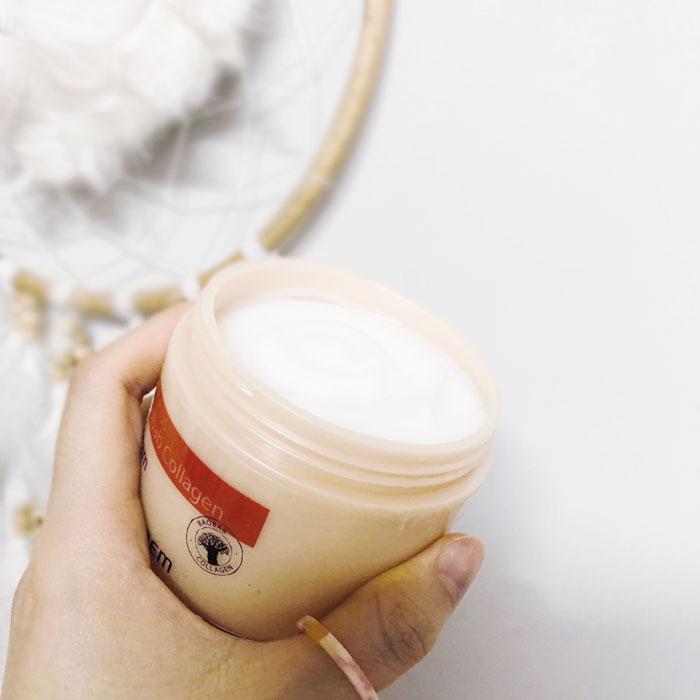 The Saem Care Plus Baobab Collagen Cream Коллагеновый крем с экстрактом баобаба фото 4 / Sweetness