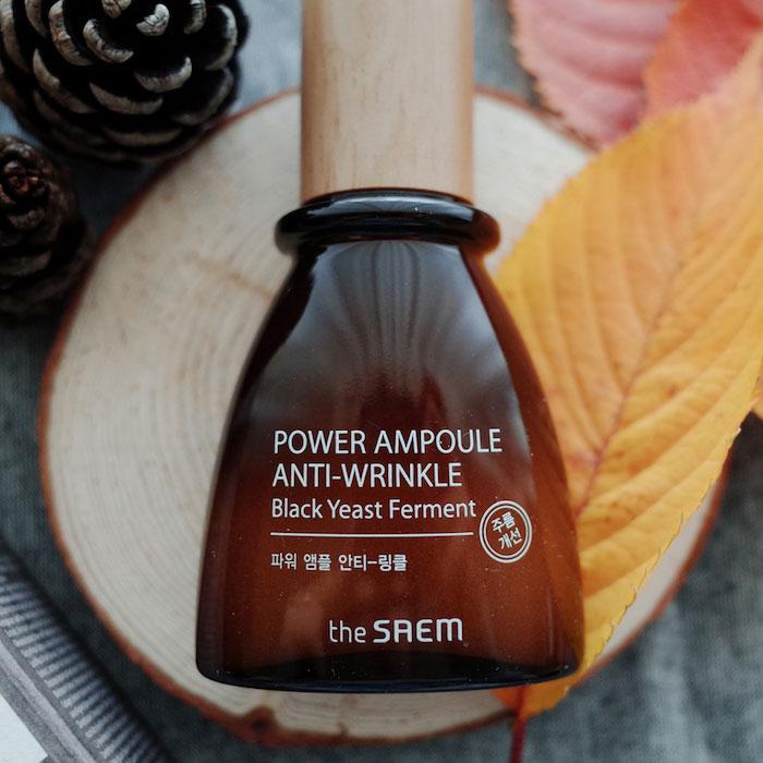 The Saem Chaga Anti-aging Serum Омолаживающая сыворотка с ферментированным экстрактом чаги фото 9 | Sweetness