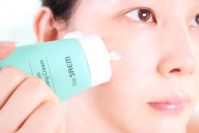Успокаивающий крем для чувствительной кожи The Saem Derma Plan Green Calming Cream фото 6 / Sweetness