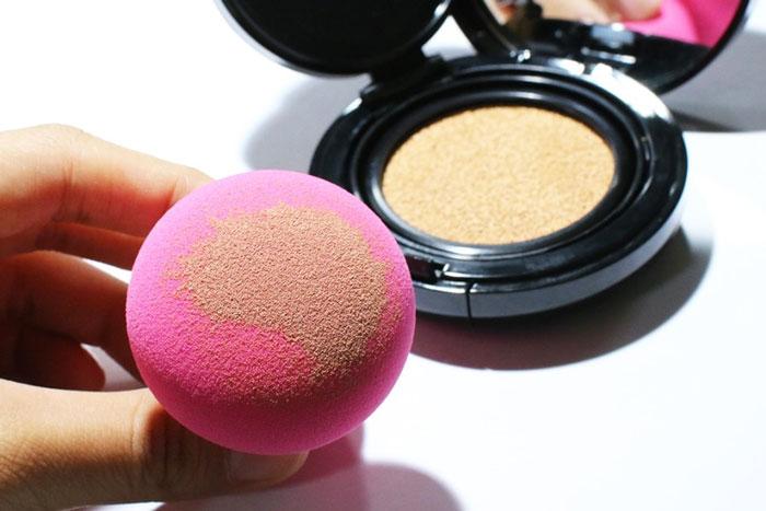 The Saem Detail stamp puff Спонж объемный для нанесения макияжа фото 4| Sweetness