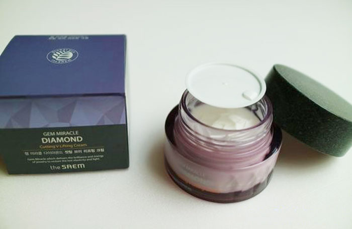Лифтинг-крем с алмазными нано-частицами The Saem Gem Miracle Diamond Lifting Cream фото 2 | Sweetness