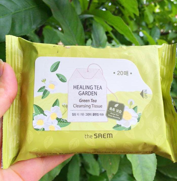 Чайные Салфетки очищающие Healing Tea Garden Cleansing Tissue фото 1 | Sweetness