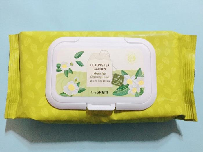 Чайные Салфетки очищающие Healing Tea Garden Cleansing Tissue фото 2 | Sweetness