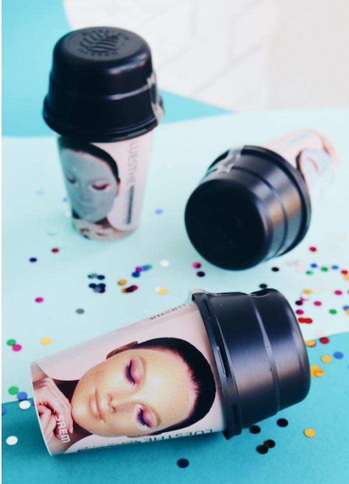 The Saem Luesthe Modeling Mask [Charcoal] Угольная альгинатная маска для лица фото 2 | Sweetness