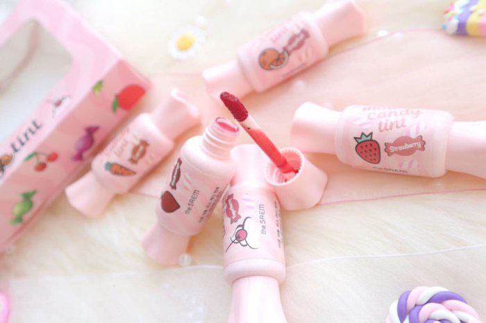 Тинт для губ Конфетка The Saem Saemmul Mousse Candy Tint фото 7 | Sweetness
