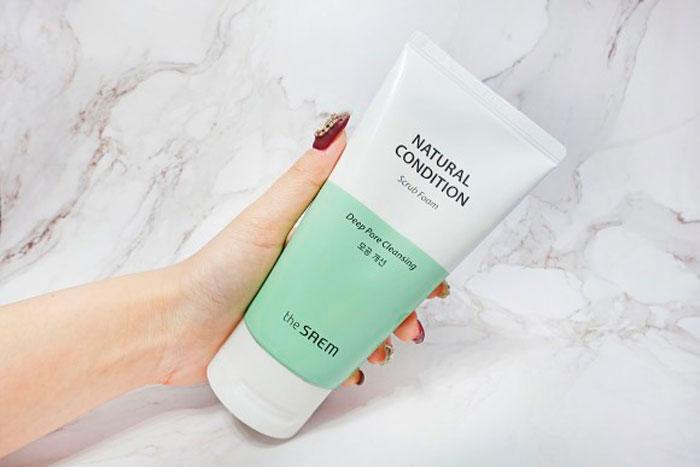 The Saem Natural Condition Scrub Foam Пенка-скраб для жирной и проблемной кожи фото 1 / Sweetness