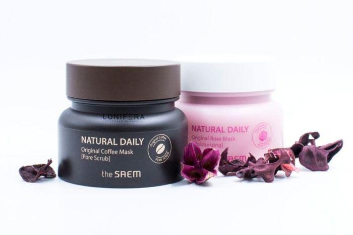 The Saem Natural Daily Original Rose Mask Увлажняющая маска с лепестками роз фото 1 | Sweetness
