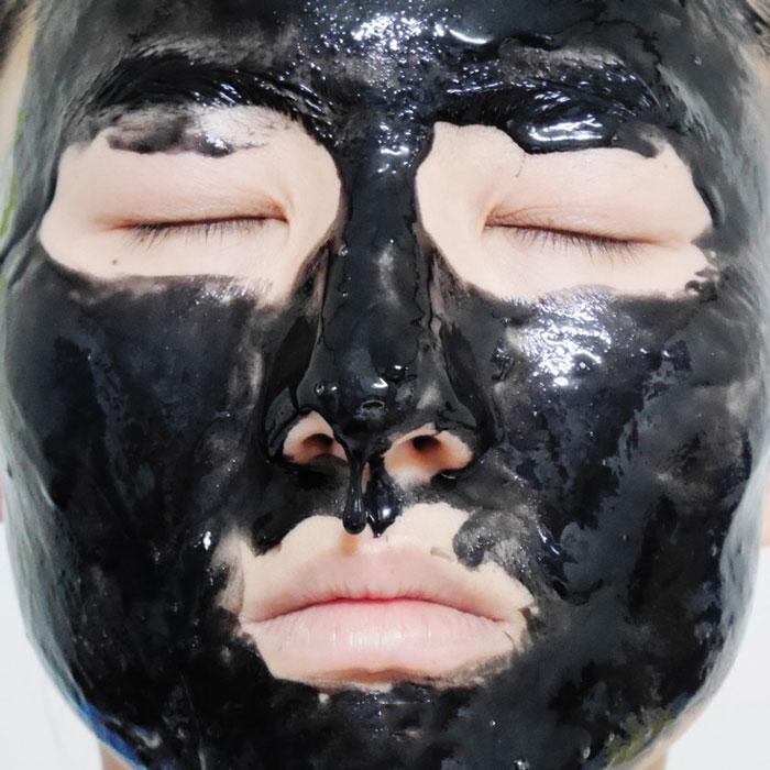 Маска - пленка для проблемной кожи The Saem See & Saw Sebum Clear Pack фото 4   Sweetness