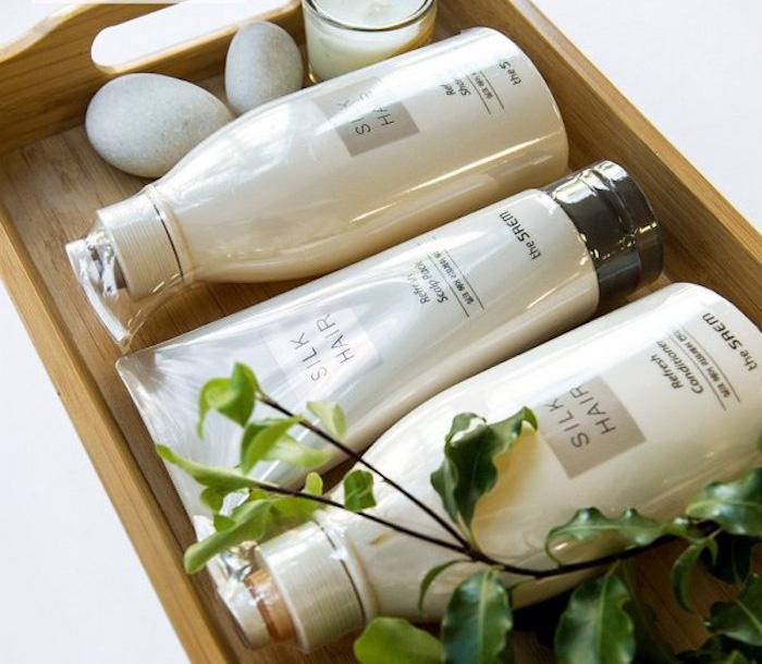 Освежающий шампунь The Saem Silk Hair Refresh Shampoo фото 2 | Sweetness