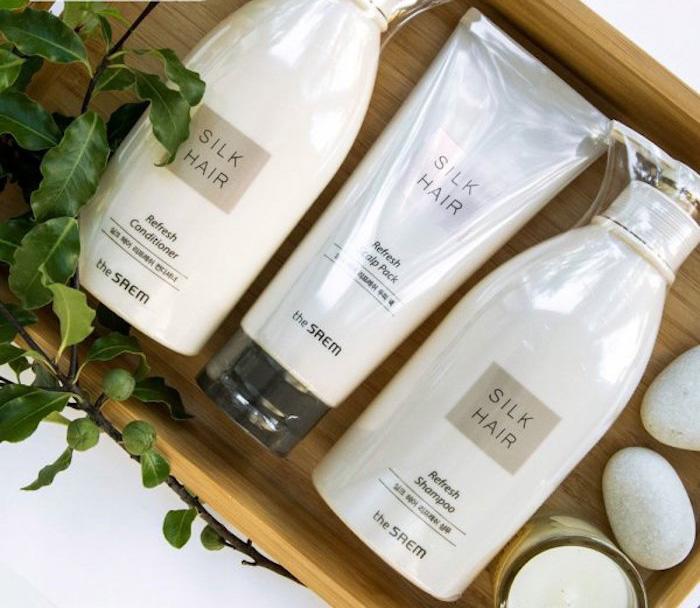 Освежающий шампунь The Saem Silk Hair Refresh Shampoo фото 3 | Sweetness