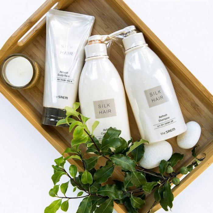 Освежающий шампунь The Saem Silk Hair Refresh Shampoo фото 1 | Sweetness