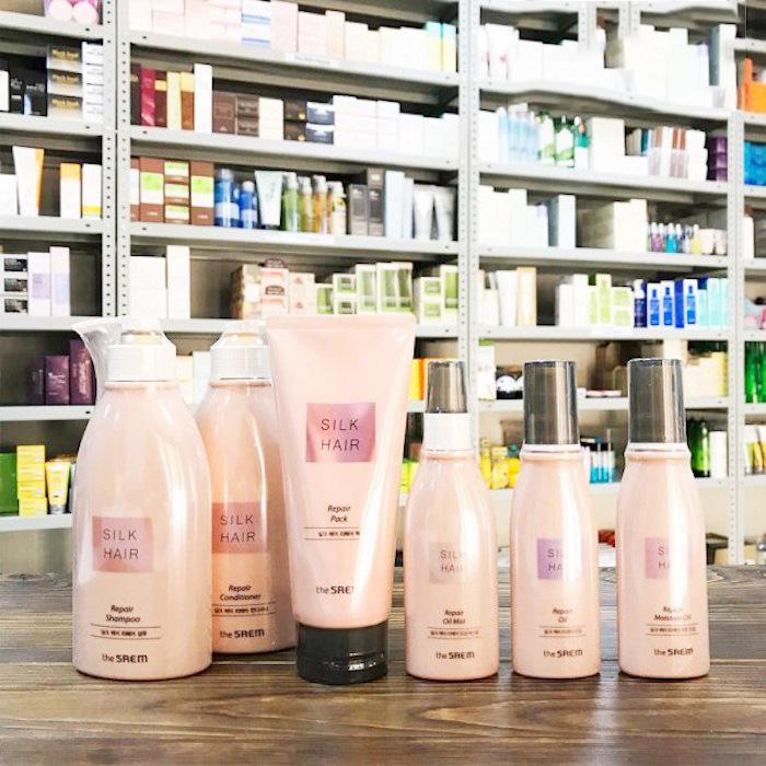 Увлажняющее масло для волос The Saem Silk Hair Repair Moisture Oil фото 1 | Sweetness