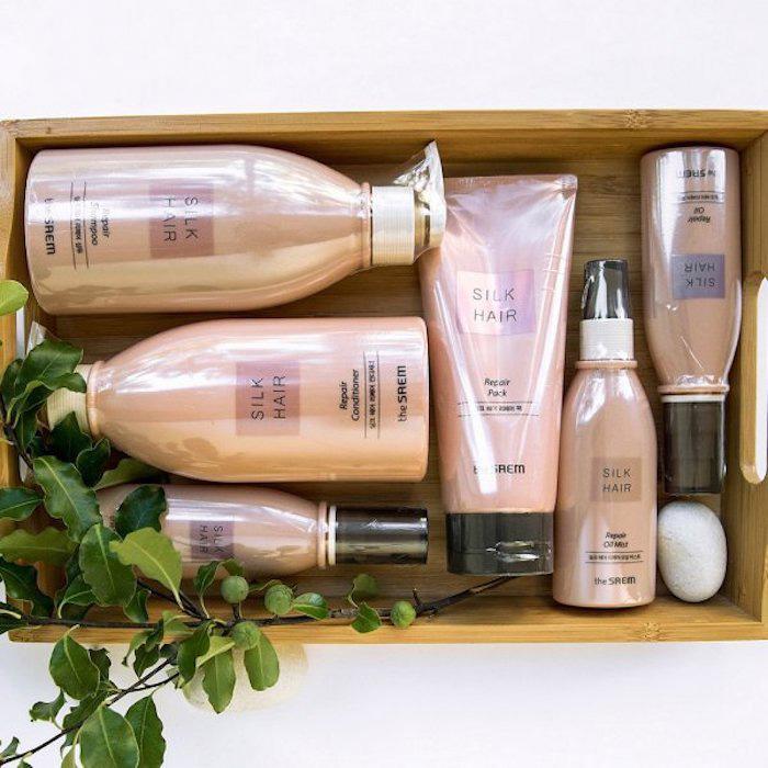 Увлажняющее масло для волос The Saem Silk Hair Repair Moisture Oil фото 2 | Sweetness