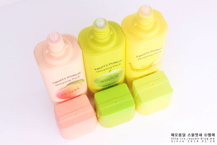 Fruits Punch Sleeping Pack фото 4 | Sweetness