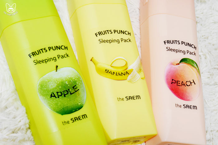 Fruits Punch Sleeping Pack фото 3 | Sweetness