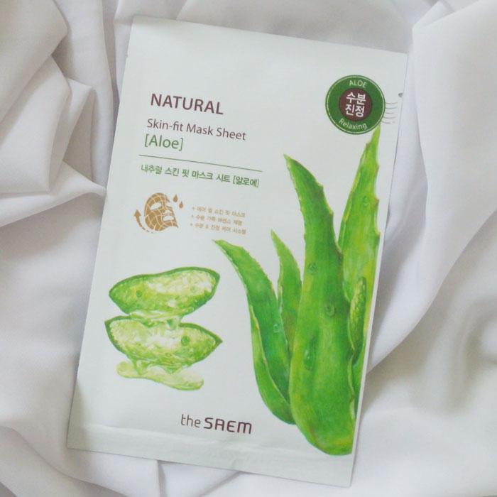 Тканевые маски The Saem Natural Skin Fit Mask Sheet фото 1 | Sweetness