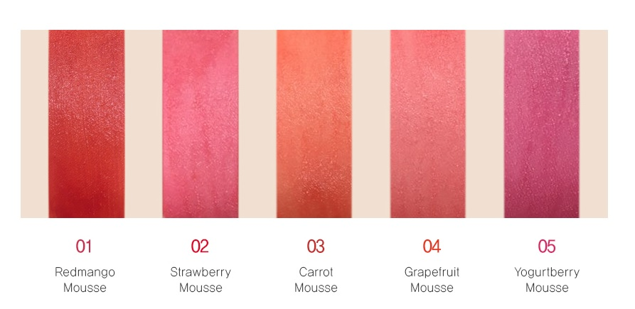 Тинт для губ Конфетка The Saem Saemmul Mousse Candy Tint фото 11 | Sweetness