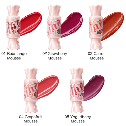 Тинт для губ Конфетка The Saem Saemmul Mousse Candy Tint фото 10 | Sweetness