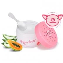 Holika Holika Pig Clear Make-up Zero очищающий крем с коллагеном