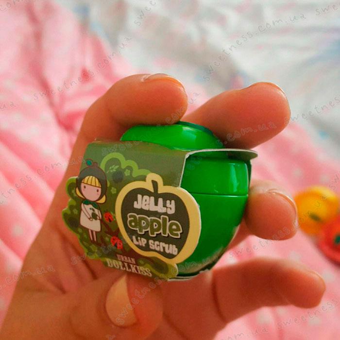Urban Dollkiss Apple Jelly Lip Scrub Скраб для губ Яблоко фото 1 | Sweetness